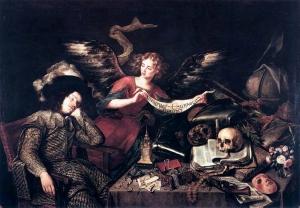 the Knights Dream - Antonio de Pereda - 1655