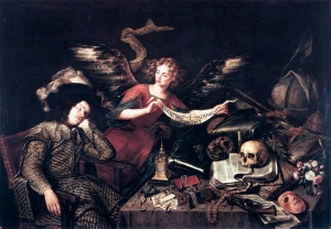 the Knights Dream - Antonio de Pereda - 1655
