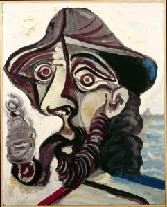 Pablo Picasso, Le Fumeur, 1971