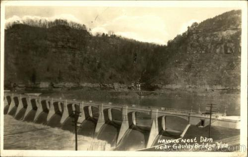 Hawks Nest Dam Gauley Bridge, WV