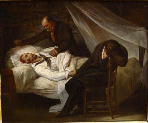 Ary_Scheffer_-_La_Mort_de_Géricault_(1824)